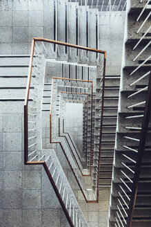 Directly above shot of staircase - FSIF01162