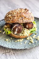 Falafel Burger with Tabbouleh - SARF03569
