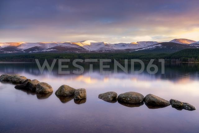 United Kingdom, Scotland, Highlands, Cairngorms National Park, Loch Morlich - SMAF00941
