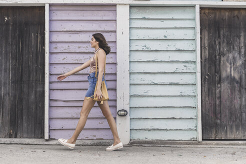 Walking young woman - AFVF00051