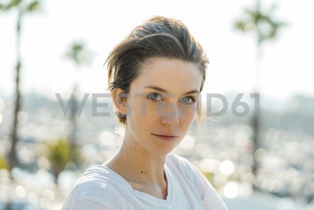 Portrait of woman with short hair - AFVF00103
