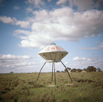 A sculpture of a UFO, Australia - FSIF02030