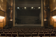 View of the stage in an empty theater - FSIF02444