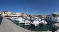 Croatia, Dalmatia, Primosten, harbour - WW04158