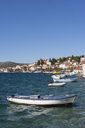 Croatia, Dalmatia, Rogoznica, Adria, harbour with fishing boats - WWF04167