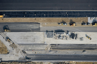 Aerial view of a construction site - FSIF02535