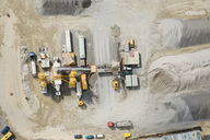 Aerial view of a construction site - FSIF02538