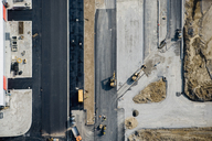 Aerial view of a construction site - FSIF02544