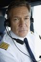 A pilot in a cockpit - FSIF02586