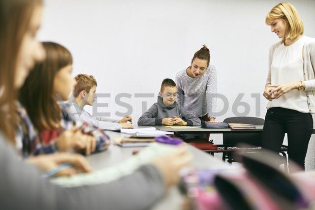 Teachers with students in class - ZEDF01187 - Zeljko Dangubic/Westend61