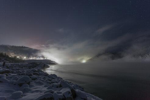 Russia, Amur Oblast, Bureya River in winter - VPIF00317