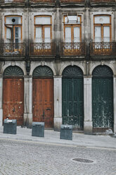 Portugal, Porto, house facade, partial view - JPF00303