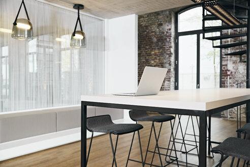 Laptop in meeting room in modern office - PDF01441