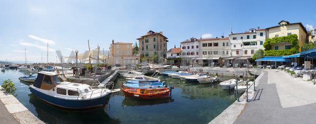 Croatia, Istria, Adria, Kvarner Gulf, Volosko, harbour - WWF04186