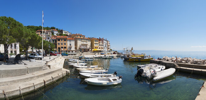 Croatia, Istria, Adria, Kvarner Gulf, Moscenicka Draga, harbour - WWF04189