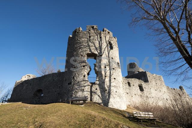 Germany, Bavaria, Swabia, Allgaeu, East Allgaeu, Eisenberg, Hohenfreyberg castle - LBF01772