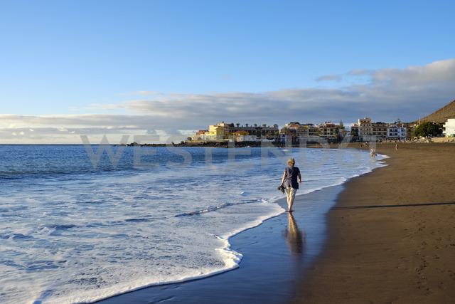 Spain, Canary Islands, La Gomera, La Playa, beach - SIEF07734