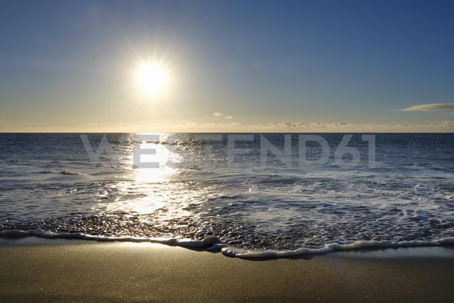 Spain, Canary Islands, La Gomera, Valle Gran Rey, Beach in La Playa - SIEF07739