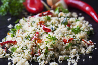 Couscous salad, close-up - CSF28970