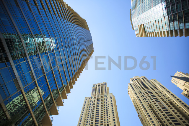 United Arab Emirates, Dubai, office towers - ZEF15008