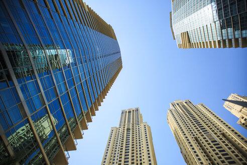 United Arab Emirates, Dubai, office towers - ZEF15008