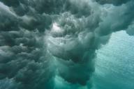 Indonesia, Bali, underwater, wave - KNTF01015