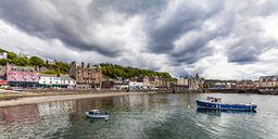 United Kingdom, Scotland, Oban, cityscape - WDF04450