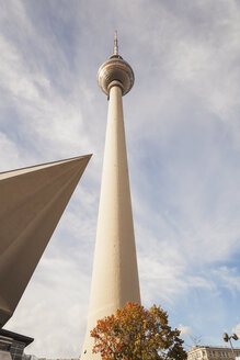Germany, Berlin, television tower - GWF05459