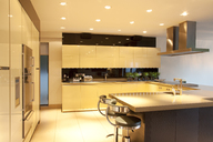 Counters and lighting in modern kitchen - CAIF00994