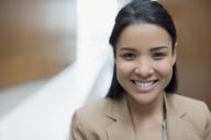 Close up portrait of confident businesswoman - CAIF01147