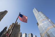 USA, Illinois, Chicago, Trump International Hotel and Tower, Wyndham Grand Chicago Riverfront - FO09964