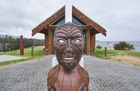 New Zealand, North Island, Rotorua, St Faith's Church, military cemetery - MRF01811