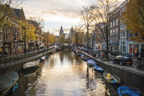 Netherlands, Holland, Amsterdam, Old town, canal - TAMF00920