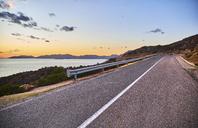 Italy, Sardinia, Road near Tuerredda in the evening - MRF01908