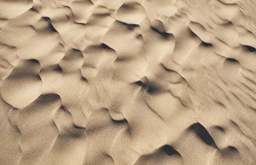Italy, Sardinia, Porto Pino, dune, sand, ripple marks - MRF01911