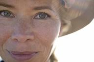 Close-up portrait of smiling woman - ECPF00226
