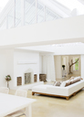 Sofas and dining table in modern house - CAIF02628