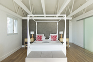 Canopy bed in modern bedroom - CAIF03666