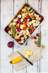 Mediterranean oven vegetables - LVF06760