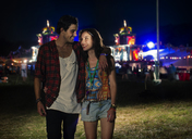 Couple leaving music festival - CAIF04003