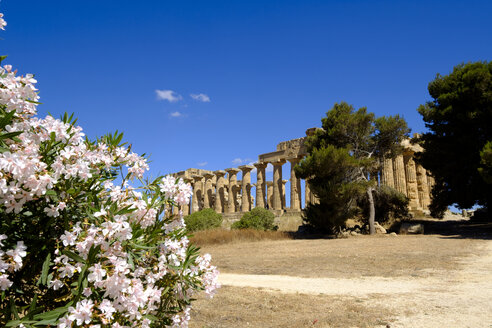 Italy, Sicily, Province of Trapani, Selinunt, Temple E, Temple of Hera - LB01831