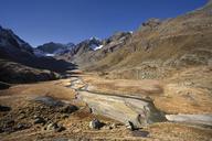 Austria, Tyrol, Stubaital, Hohes Moos in the morning light - CVF00225