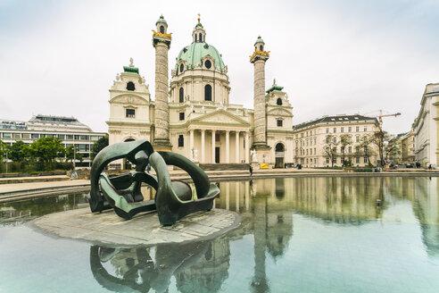 Austria, Vienna, St. Charles Church - TAM00934