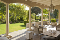 Luxury patio and garden - CAIF04446