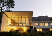 Modern house illuminated at night - CAIF04506