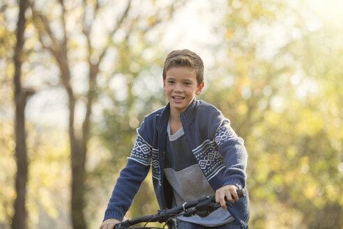 Boy bike riding - HOXF00618