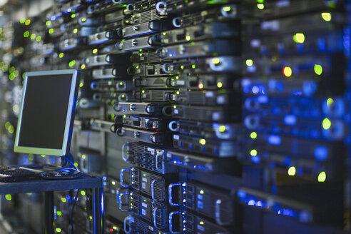 Computer and server room rack panel - HOXF00840