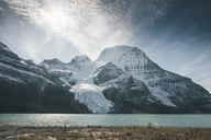 Canada, British Columbia, Rocky Mountains, Mount Robson Provincial Park, Fraser-Fort George H, Berg Lake, Berg Glacier, Mist Glacier - GUSF00352