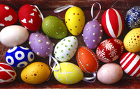Various Easter eggs - JTF00944