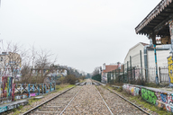 Abandoned railway station - AFVF00284